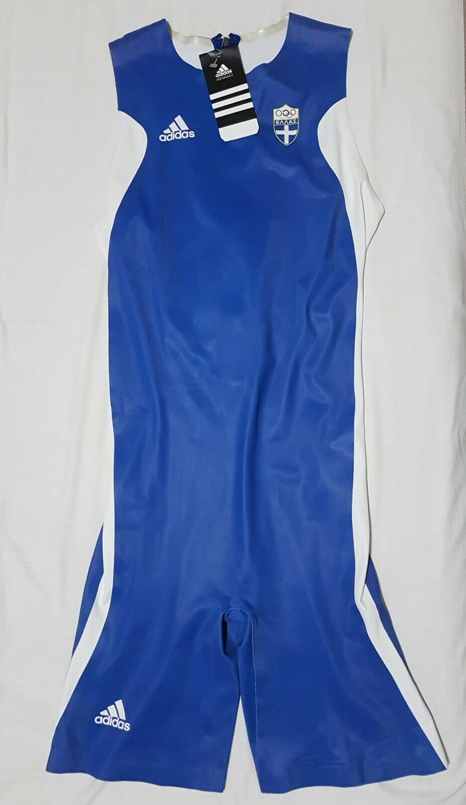 Adidas Performance Hellas Olympic Games Track & Field suit singlet, Größe L, BNWT