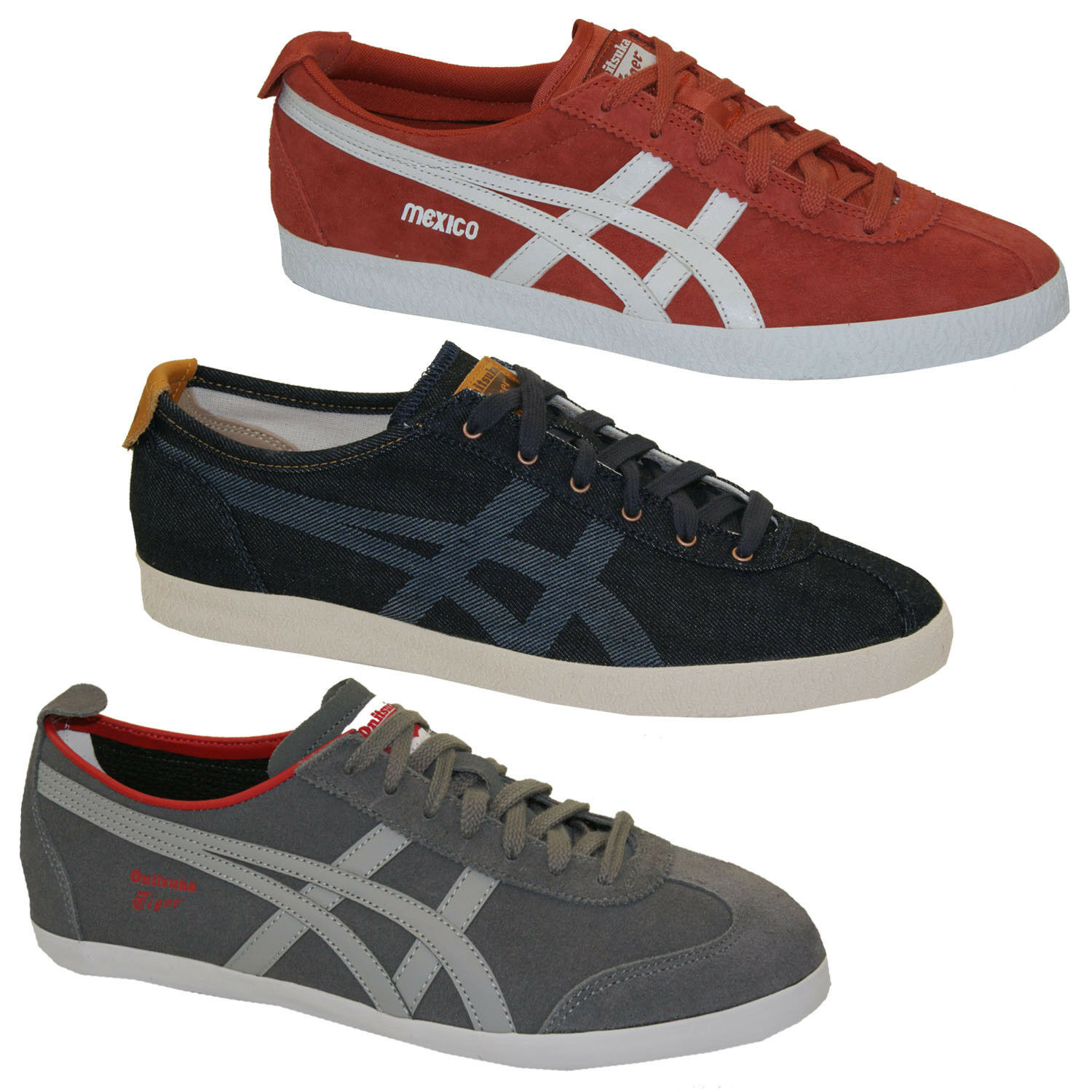 Onitsuka Tiger by Asics Mexico 66 Delegation Sneakers Men's Women's Sneakers Brand discount