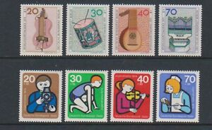 Germany-Berlin-1973-4-Instruments-amp-Welfare-sets-MNH-SG-B443-6-B452-5