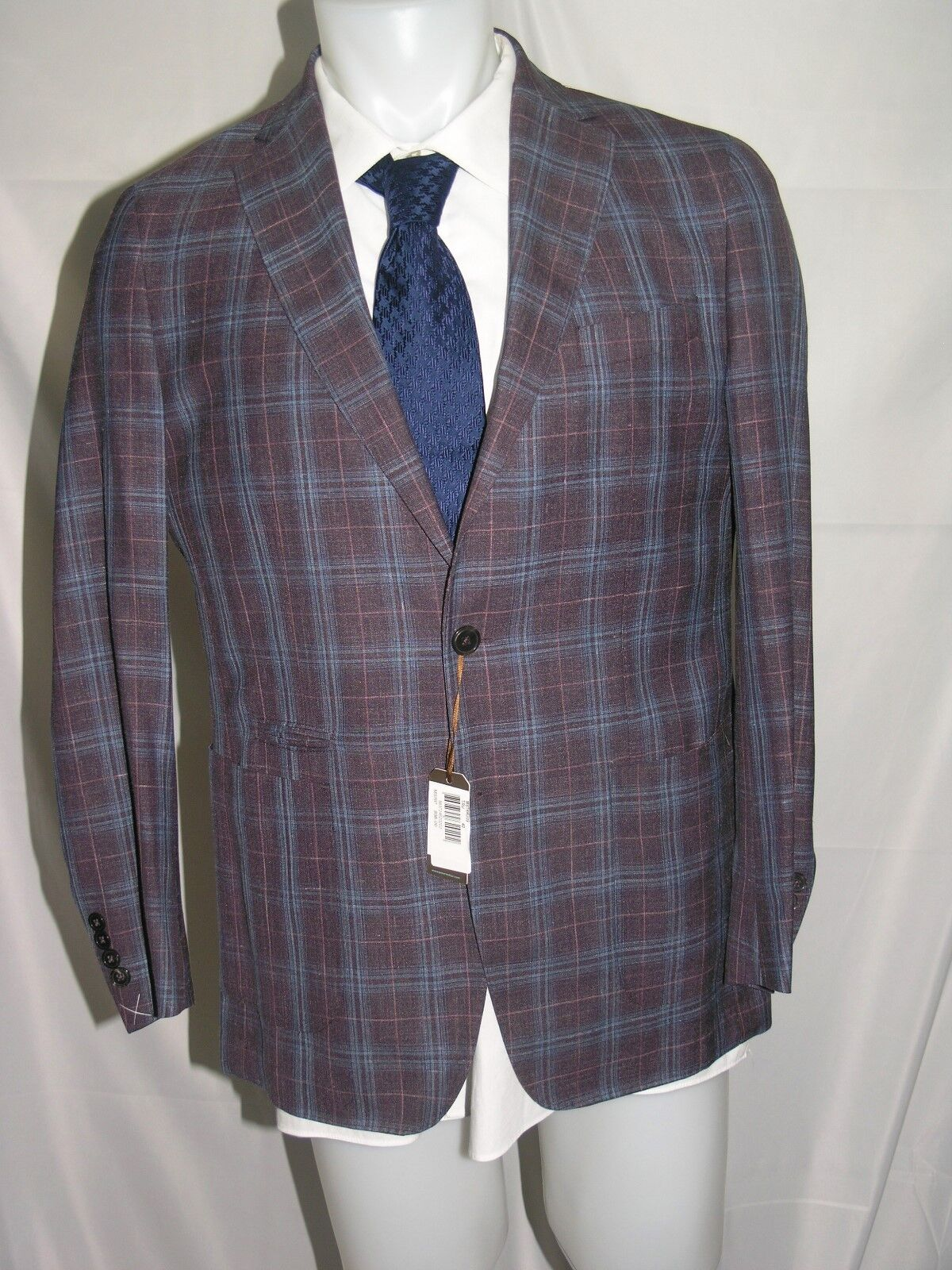 Peter Millar Collection Newport Soft Coat Lgold Piana Summer Time 40 S NWT
