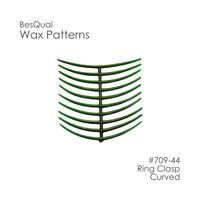 Dental Wax Patterns, Ring Clasp (10 Pcs /box) Besqual 709-44 - Free Usa Ship