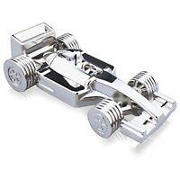 16GB Silver Metal F1 Race Car Novelty Memory Stick USB 2.0 Flash Drive