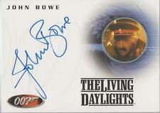"James Bond Complete - A58 John Bowe ""Colonel Feyador"" Autograph Card"