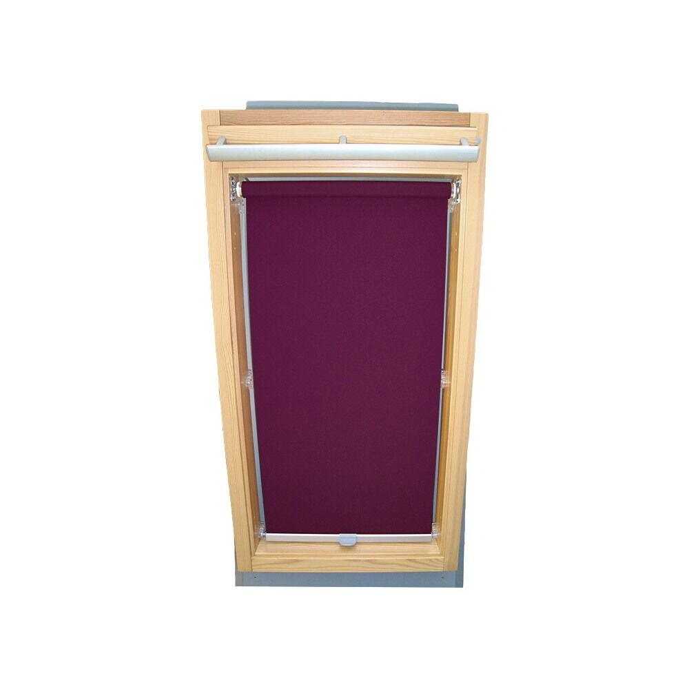 Dachfensterrollo Sichtschutzrollo Rollo für Velux GGU GPU GHU - lila | Verrückte Preis