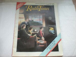 The-Radio-Times-Dated-1-7th-Nov-1985-50-Years-Of-Television-Souvenir-Issue