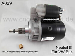 Anlasser für BOSCH in VW TRANSPORTER Bus T2 T3 1.6 1.7 2.0 Starter NEU !!!