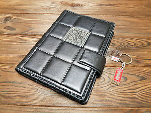 Details About Leather Pocket Travel Log Personalized Album Boss Gift Daily Planner Journal A5