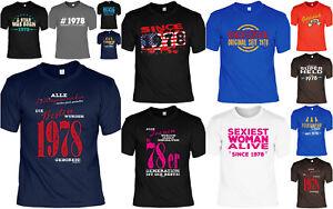 Details Zu T Shirt 42 Geburtstag 42 Jahre Coole Sprüche Motive Geburtstag 1978 Geb 42