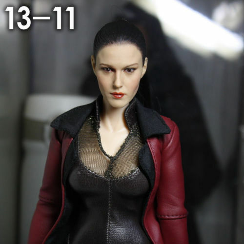 1 6 Scale Woman Female Girl Head Sculpt Kumik KM13-11 Fit 12  Female Doll Model