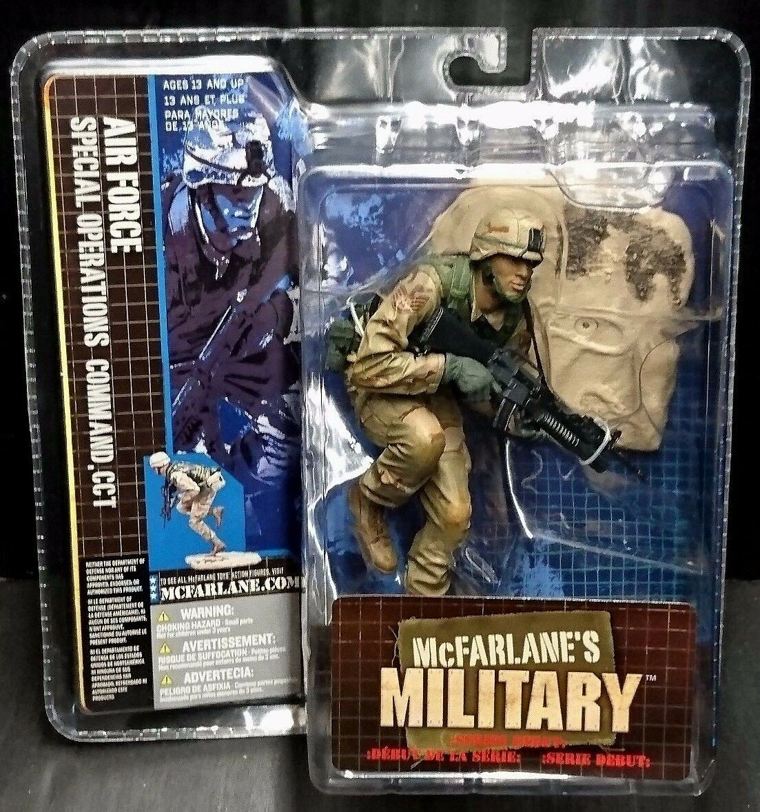 McFarlane's Military Series Debut  AIR FORCE SPECIAL OPERATIONS COMMAND CCT New