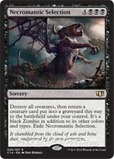 NECROMANTIC SELECTION Commander 2014 MTG Black Sorcery Zombie Rare