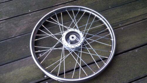 "Puch Maxi Speichenrad 17/"",Chromfelge Felge Laufrad Räder Rad vorne"