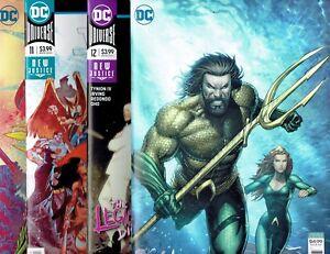 Justice League #11 Drowned Earth DC Comics 1st Print EXCELSIOR BIN