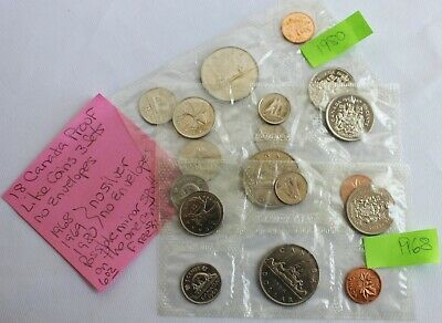 6 perfect coins in org packaging and certificate 1968 Canada Prooflike PL set