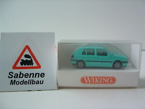 Wiking-h0-1-87-051-03-16-VW-Golf-4-turig-OVP-b859