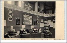 Echtfoto-AK um 1930/40 Blick in ein ORGA Geschäft Papier Rabus Artikel Verkauf