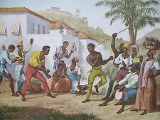 Mortiz Rugendas: Brasil Capoeira ou danca da guerra - 1835 (1986)