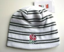 ENGLAND RUGBY 2018 Arctic Charcoal BEANIE POMPOM HAT CANTERBURY Tags OSFA Bobble