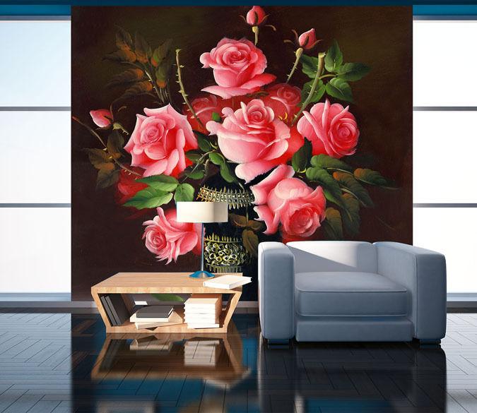 3D Beautiful pinks 51 Wall Paper Wall Print Decal Wall Deco Indoor AJ Wall Paper