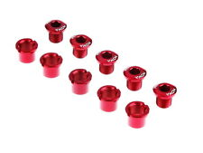 MOWA Road Cyclocross Mountain Bike Crank Chainring Bolts Nuts for Shimano Red