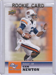 Details About Cam Newton Rookie Card Auburn Tigers Football 2011 Upper Deck Sweet Spot Rc