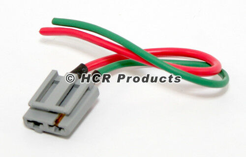 HEI Distributor Wire Harness Dual Connector Pigtail For 12V Power and Tachometer