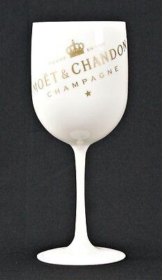 2x Moet Chandon Ice Imperial Champagner Glas Flöte Acryl NEU OVP Gläser Becher
