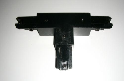 ZumTobel Staff S2802160  T-Verbinder 3-Phasen in Schwarz Erde Außen Rechts