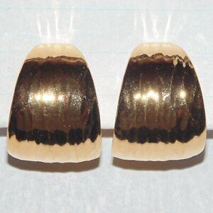 Vintage-signed-Napier-wide-textured-gold-tone-clip-screwback-hoop-earrings