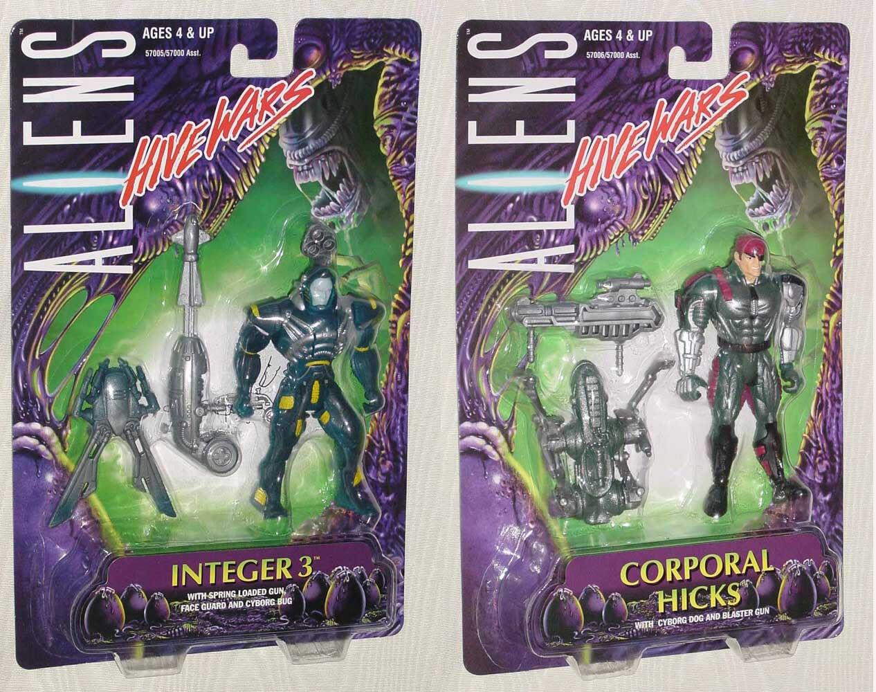 Aliens Colmena guerras entero 3 Resorte pistola cabo Hicks Cyborg perro