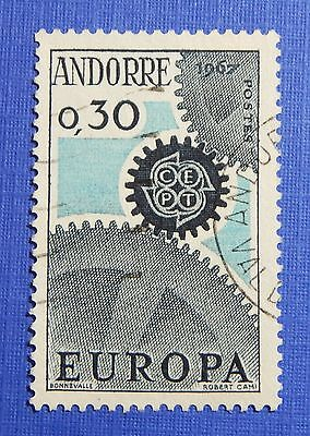 Stamps 1967 Andorra French 30c Scott# 174 Michel # 199 Used Cs29244 To Produce An Effect Toward Clear Vision