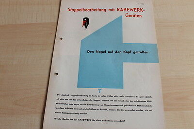Fink 144572 Prospekt 07/1965 Rabewerk Schälpflug Gimpel