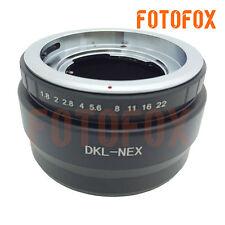 DKL-NEX Voigtlander Retina Deckel Lens to Sony NEX-7 5T A7 A7RII a6300 Adapter