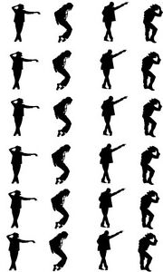 image is loading 24 x michael jackson silhouettes edible icing