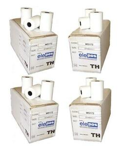 elePOS/® 57x40 Thermal PDQ Rolls Chip/&Pin 40 Rolls