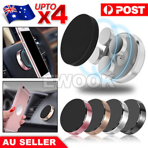 Universal Magnetic Magnet Car Phone Holder Mount Stand For iPhone Samsung PD GPS
