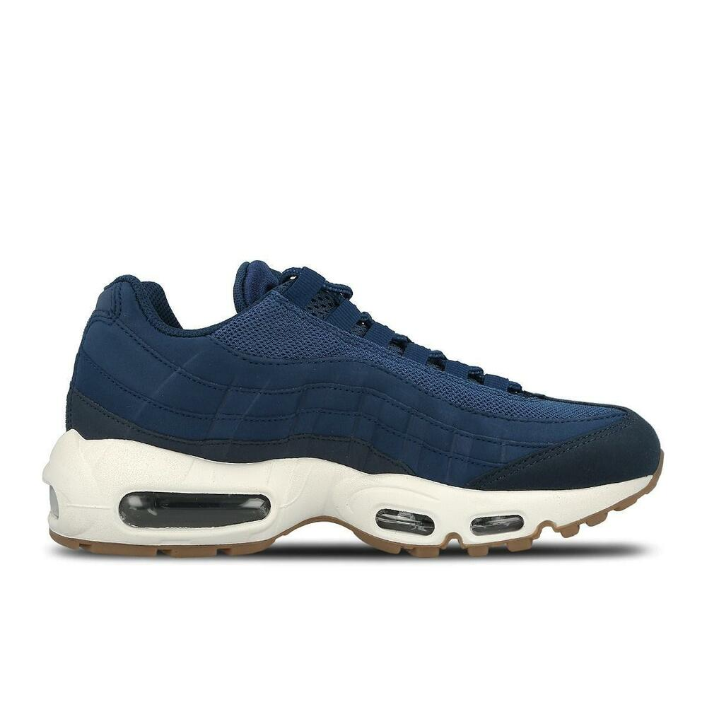 check out a1daa cdcfa Femme Nike Air Max 95 Bleu Running Baskets 307960 307960 Baskets 400-  Chaussures de sport