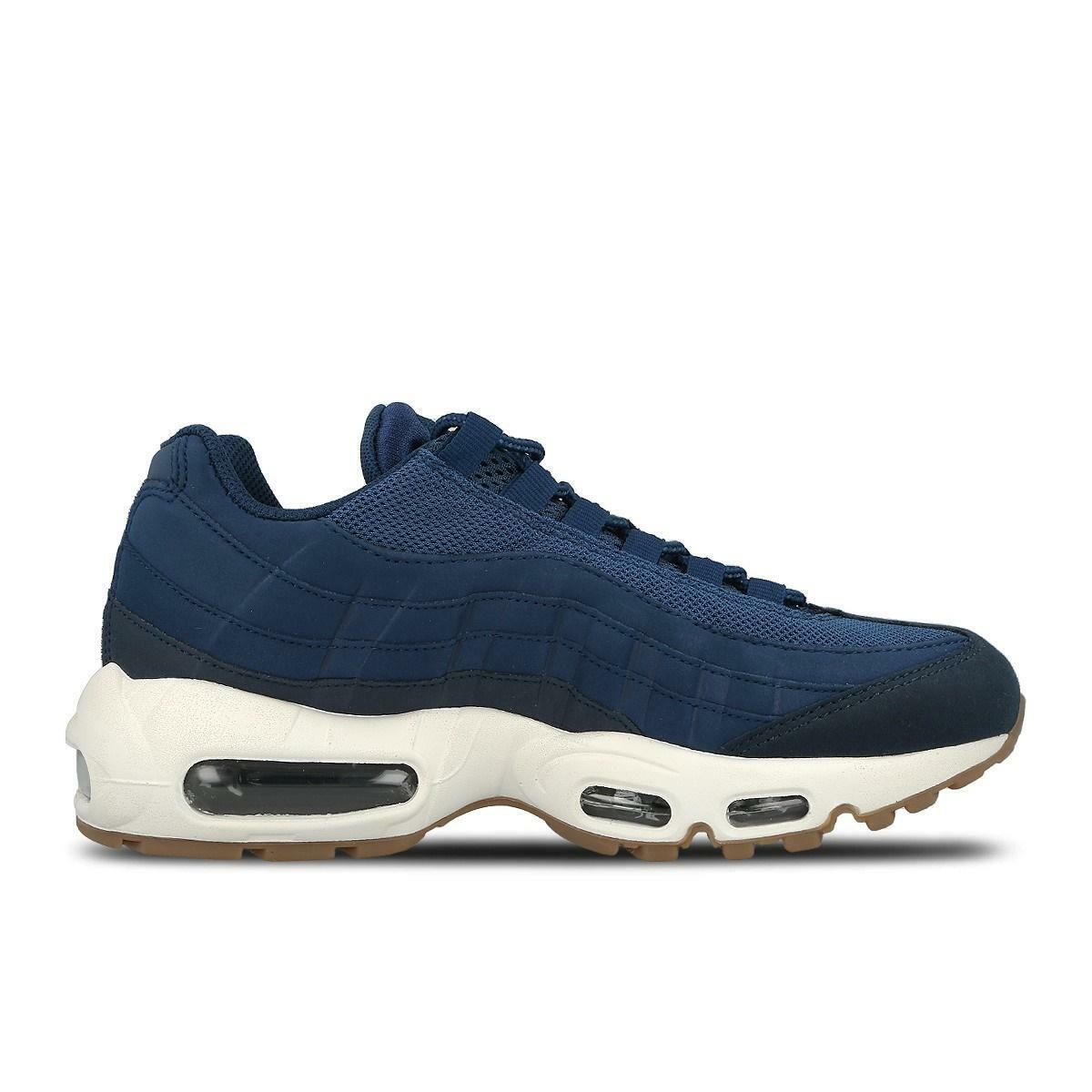 Womens NIKE AIR MAX 95 Blue Running Trainers 307960 400