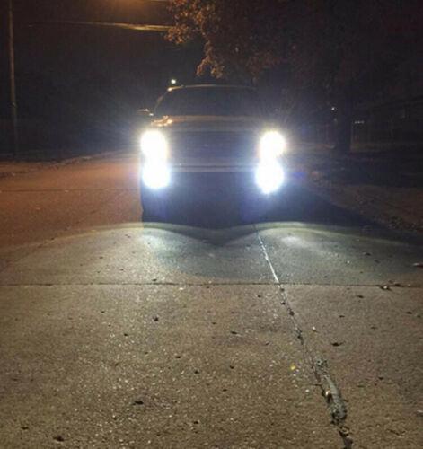 For Ford F150 F250 F350 Super Duty 2x 100W 6000K White LED Fog Lights Bulbs Kit