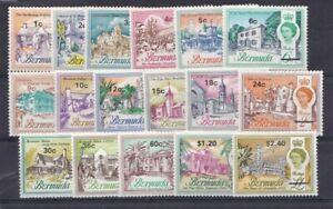 Bermuda-1970-Elisabetta-II-soprastampato-226-42-Mnh