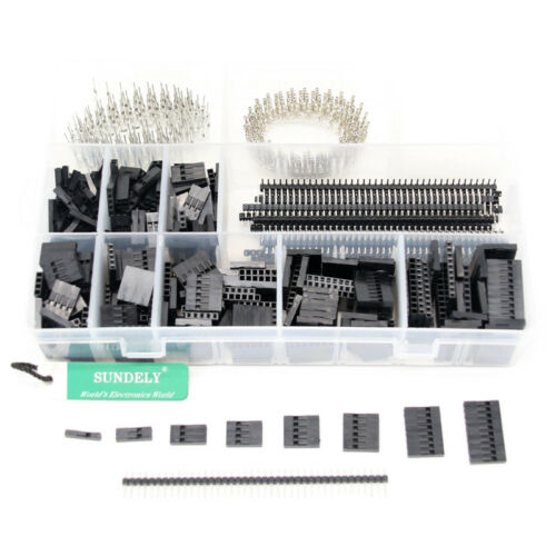 High quality Connector For Headers & Assorted 2.54 1450pcs Pcb Jumper Pin Kit UK