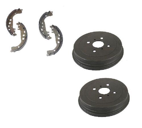 For Scion xA 04-06 Brake Kit Rear Brake Drums w// Shoe Set Aftermarket