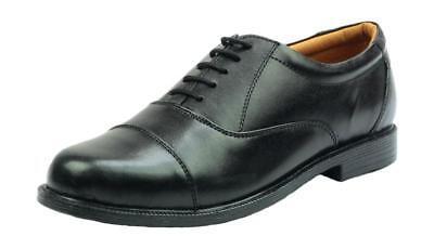 Cadet Desfile Zapatos. Oxford Tope Apto Para Atc, ejército Cadetes CCF Etc