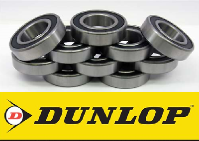 6201 2RS DUNLOP Roulements Taille 12 mm x 32 mm X10mm Pack x 10 roulements