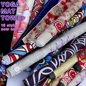 Yoga-Print-Towel-Mat-Fitness-Sports-Exercise-Non-Slip-Absorption-Sweat-Blanket