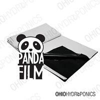 10'x100' Black And White Poly Film - Real Panda Film Panda Feet 10x10' -10x100'