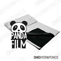 10'x100' Black And White Poly Film - Real Panda Film Panda Feet 10x10' -10x100'