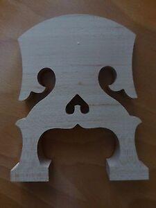 100% Vrai Style Baroque Double Basse Pont ,3/4, Rare Modèle Neuf, Âgés Érable, Dernier Style