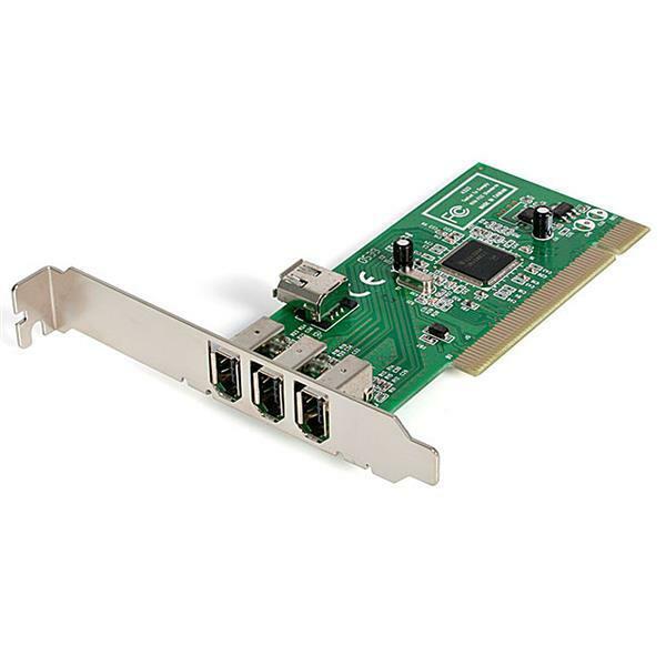 StarTech.com PCI1394MP 4 Port PCI 1394a FireWire Adapter Card