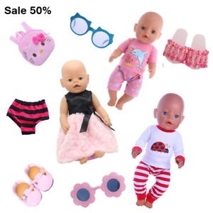 Doll Clothes Accessories Various Styles Of Clothing Suitable For 18-Inch